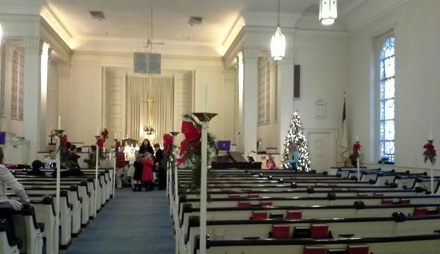 Christmas FPCL 2014 Sanctuary