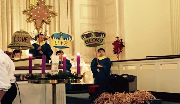 Christmas Pageant 1 2014