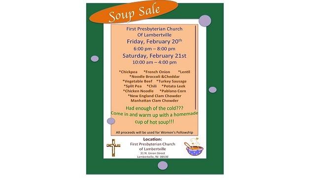 Soup Sale 2015 2